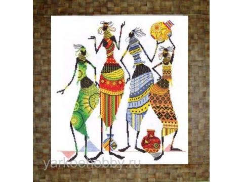 Африканочки-подружки.